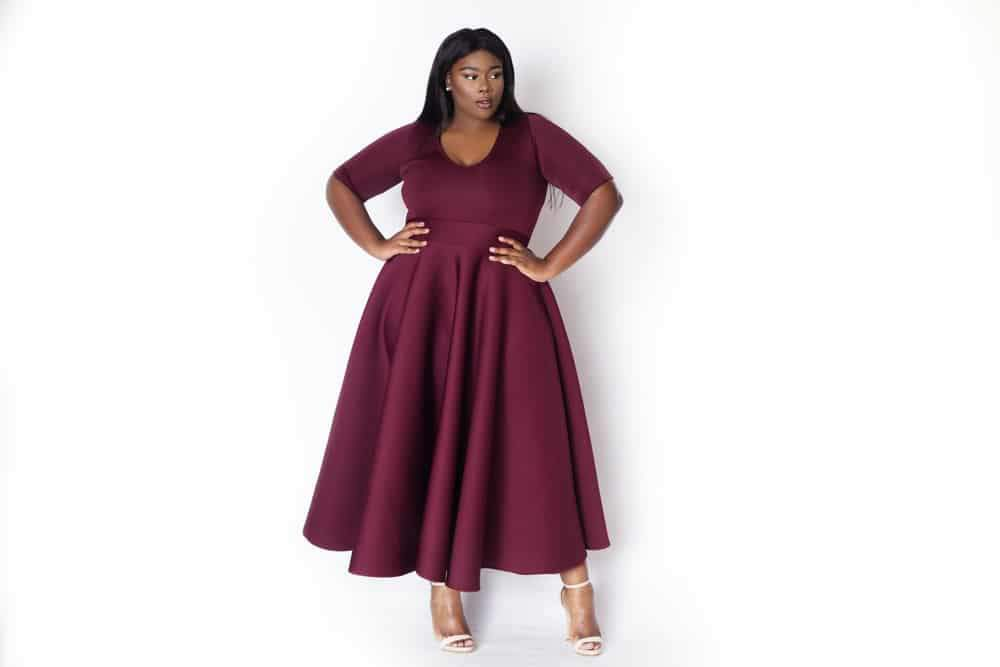 26be39955cd Ditch The LBD This Holiday Season for These 15 Colorful Plus Size ...