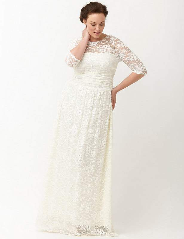 A Few of Our Favorite Plus Size Winter White Finds