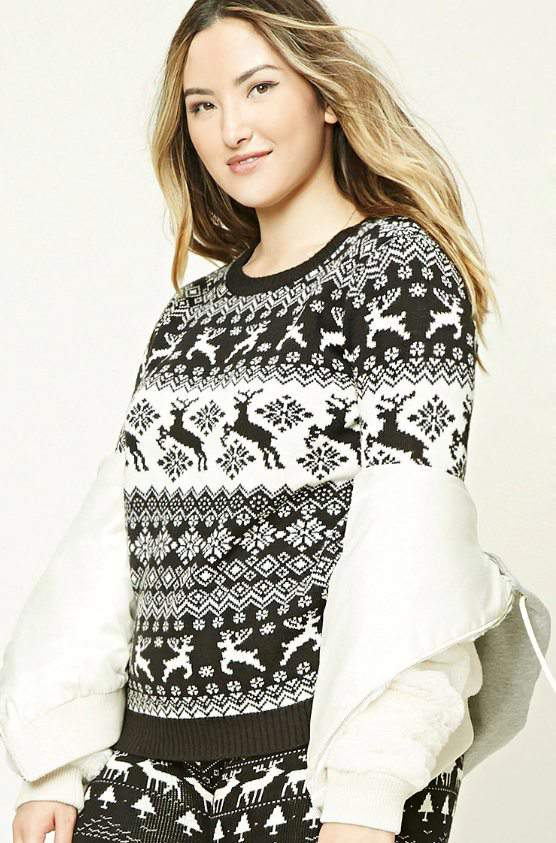 10 Not So Ugly Plus Size Christmas Sweaters, To Rock This Holiday ...