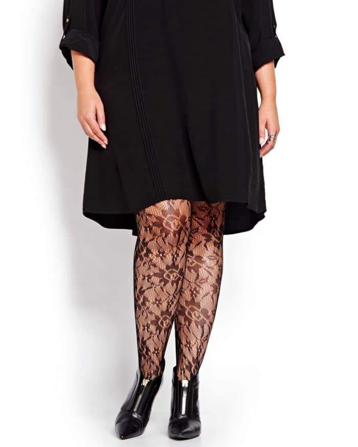 Plus Size Tights and Hosiery (3)
