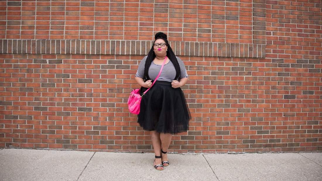 Fashion Blogger Spotlight:  Sierra of Eclectic Kurves