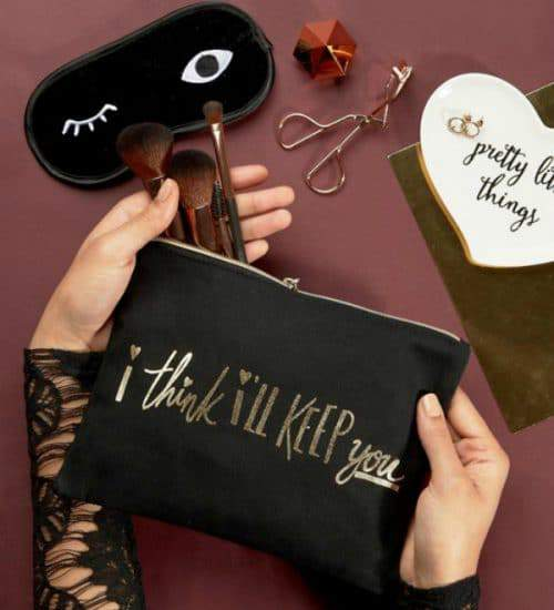 Keep It Cute with a Few Must Have Makeup Bags!