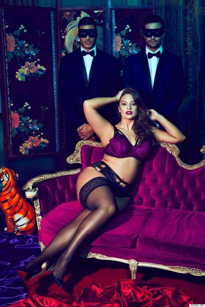 Ashley Graham x Addition Elle presents: The Dark Beauty Plus Size Lingerie Collection