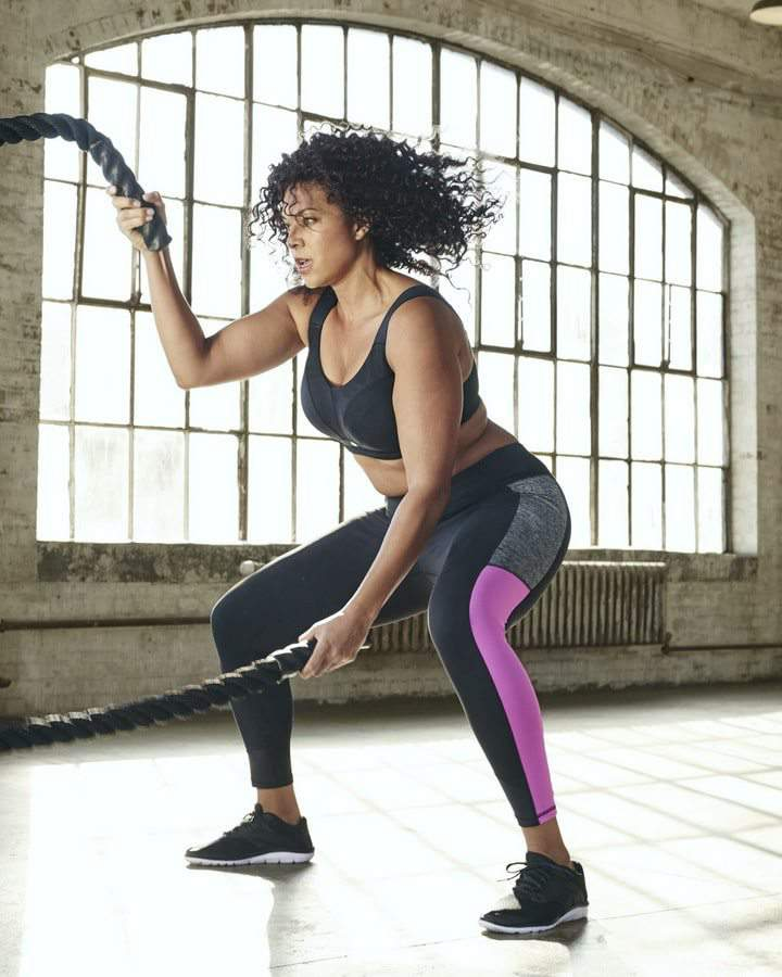 Lane Bryant LIVI Active Plus size active wear campaign