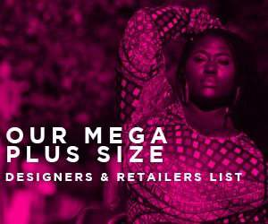 Plus size designers and retailers