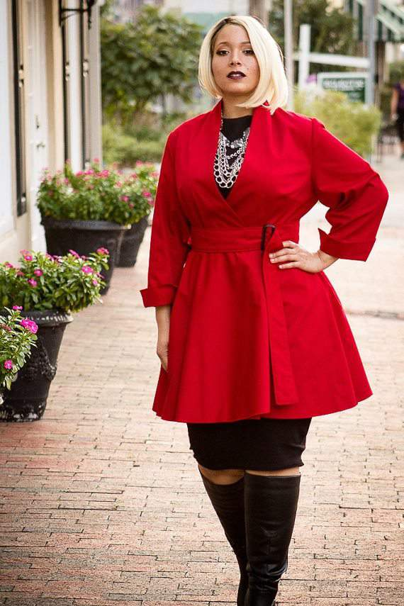 Plus size designer- A Conversation Piece by S. Benson