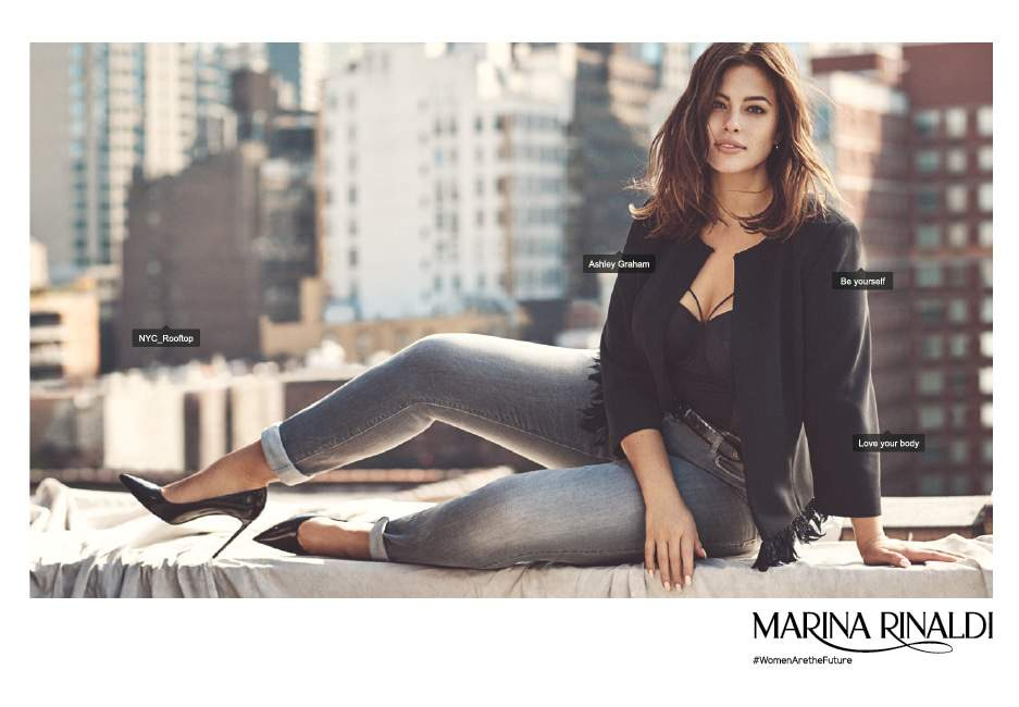 The Marina Rinaldi Spring Campaign featuring Ashley Graham!