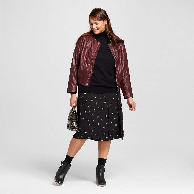 Women's Plus Size Quilted Bomber - Who What Wear