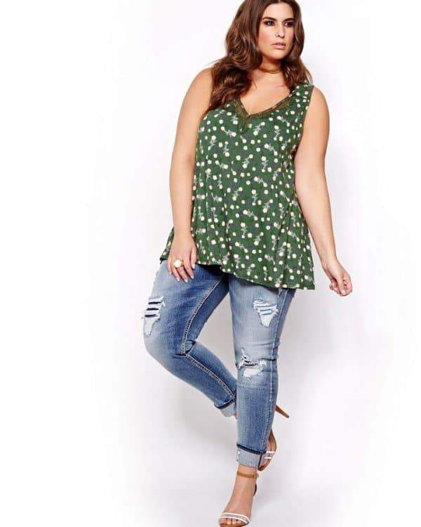 Silver Girlfriend Plus Size Jeans