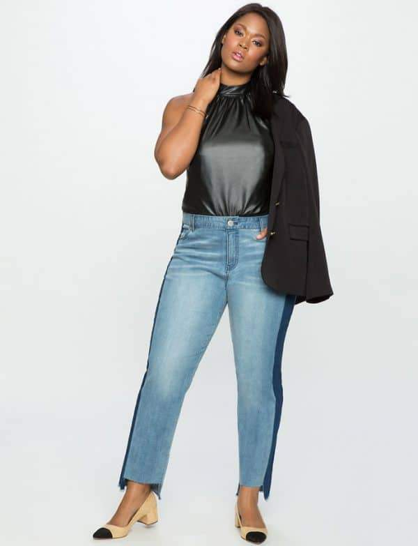 Trending: A Few Plus Size Denim Styles to Wear this Spring ...