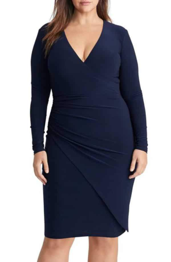 c63bebbf49c 12 Uber Chic Plus Size Wrap Dress You Need In Your Closet