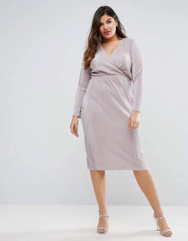 Uber Chic Plus Size Wrap Dress You Need In Your Closet