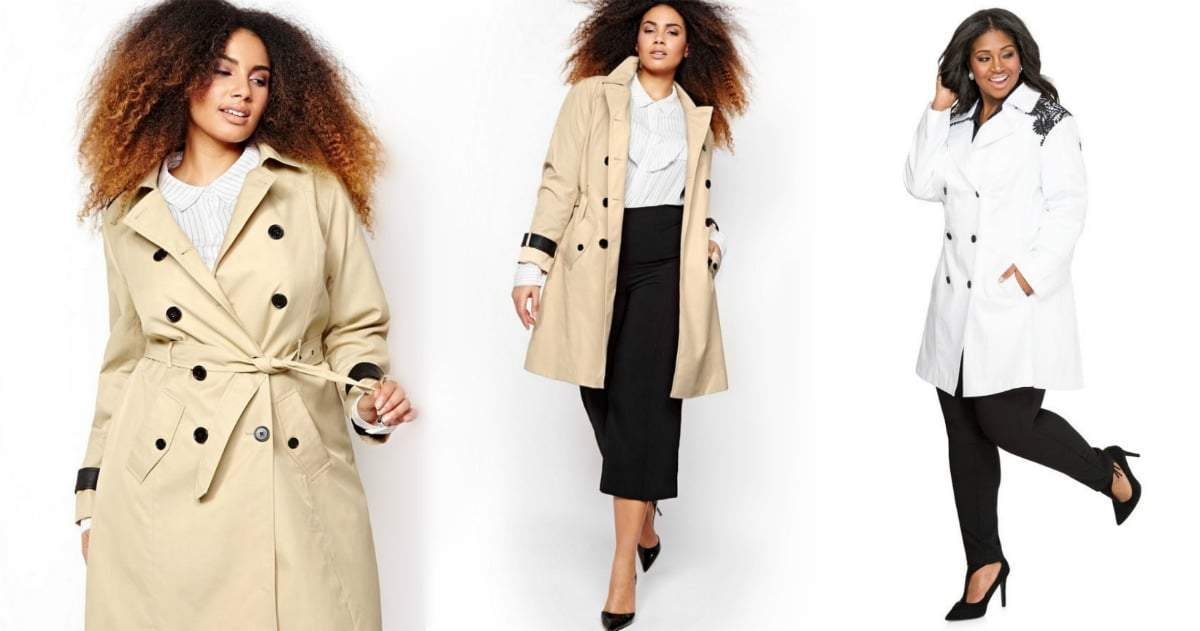 Coat Update: 8 Plus Size Trench Coats You Need Now!