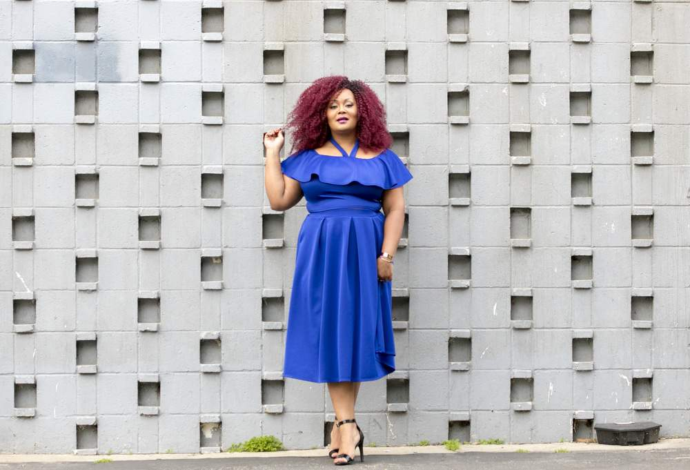 "My Style: Finding My ""IT"" and Playing in Shades of Blue!"