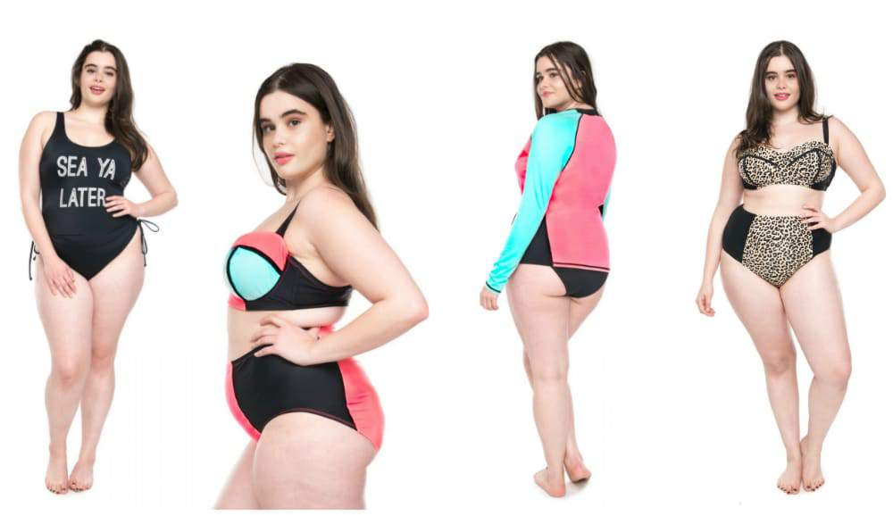 Get Ready! New Swim from Plus Size Brand, Moxi Blu!