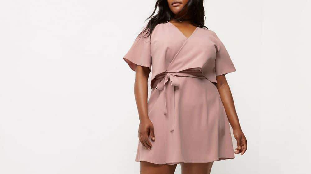 5f724a993bf 12 Uber Chic Plus Size Wrap Dress You Need In Your Closet