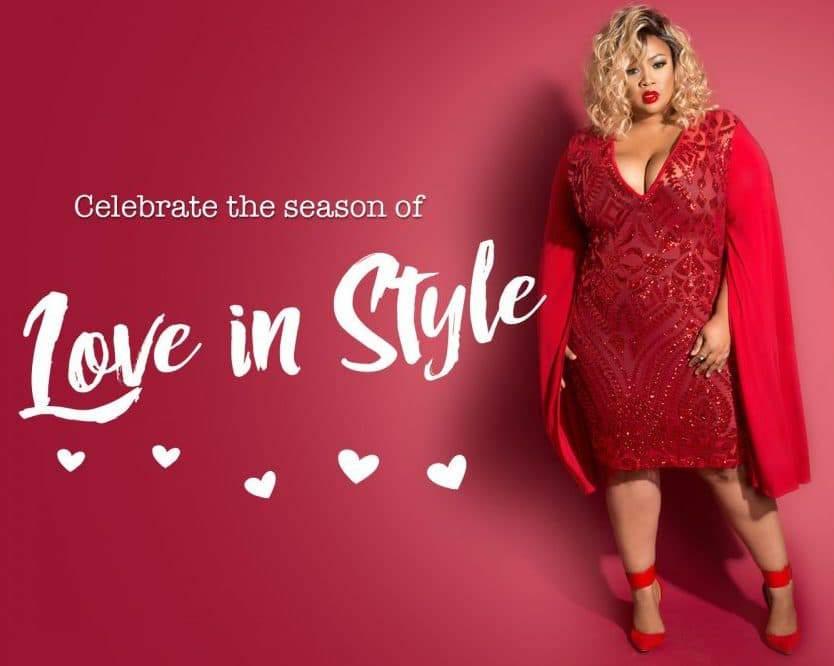 Chic and Curvy Valentine's Lookbook