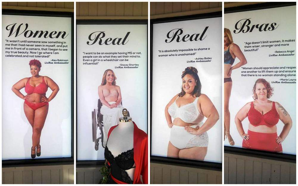 Livi Rae Lingerie Fights Discrimination with #NOSHAMELIVIRAE