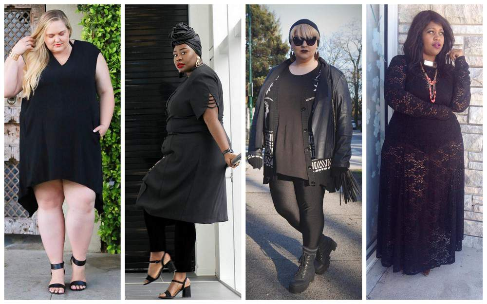 TCFStyle: 10 All Black Plus Size Looks To Copy, Now!