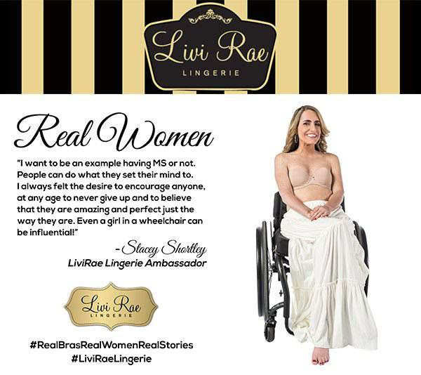 Livi Rae Real Bras for Real Women with Real Stories