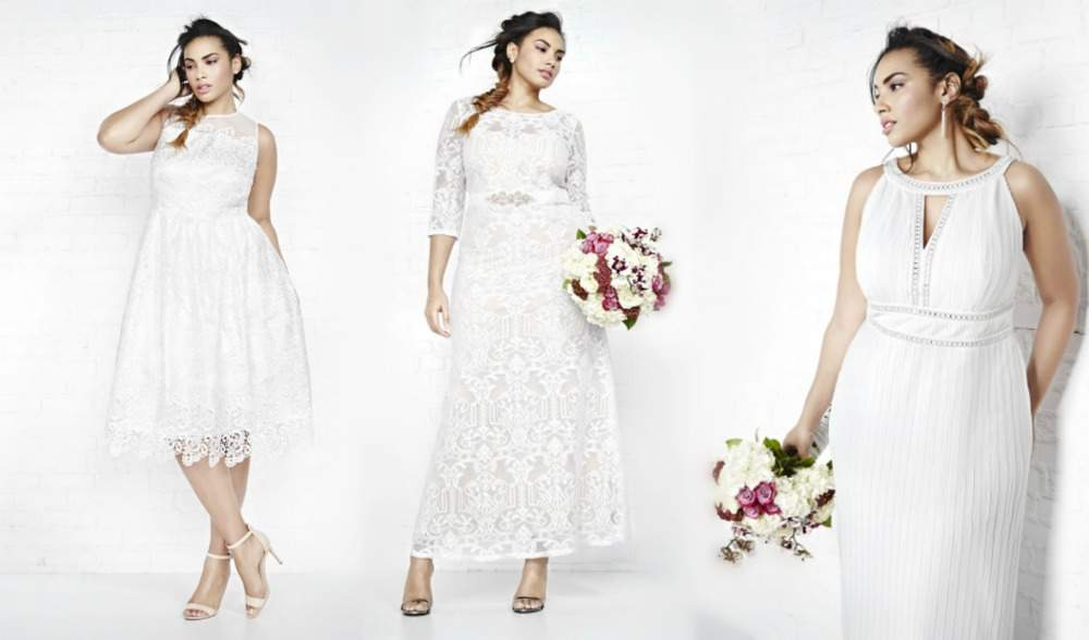 Here Comes The Bride: Addition Elle Introduces Violets & Roses Bridal Collection