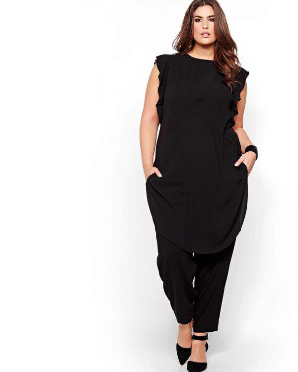 Rachel Roy Ruffled Tunic Dress
