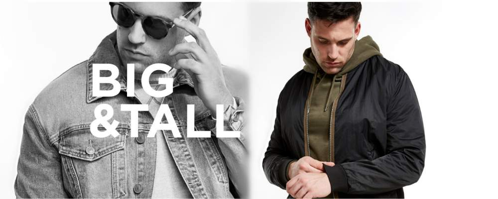 Cool News! River Island Introduces RI Big & Tall Collection!