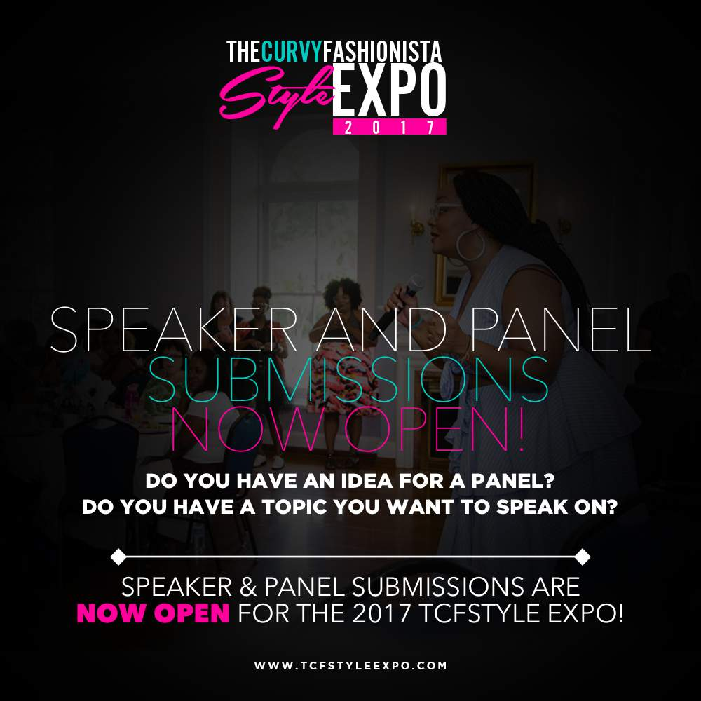 TCFStyle 2017 Call for Speakers and Panel Submissions