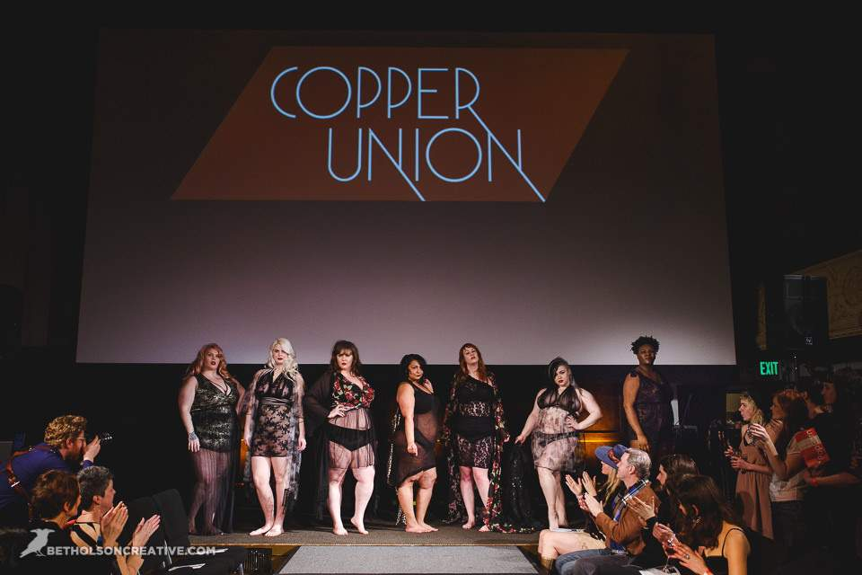 Ohhh! Indie Plus Designers Rock The Lingerie Runway!