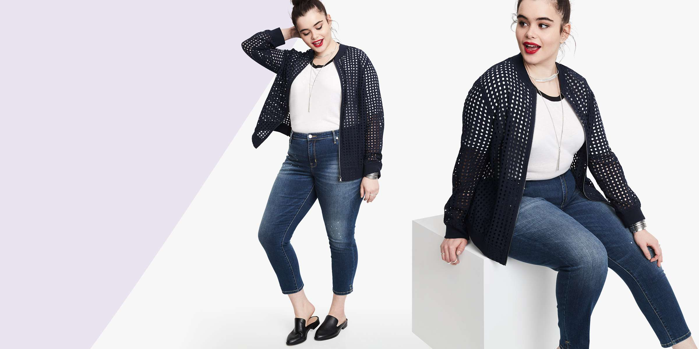 f571eb5118d Spring Style  5 Fly Plus Size Denim Trends To Rock This Season!