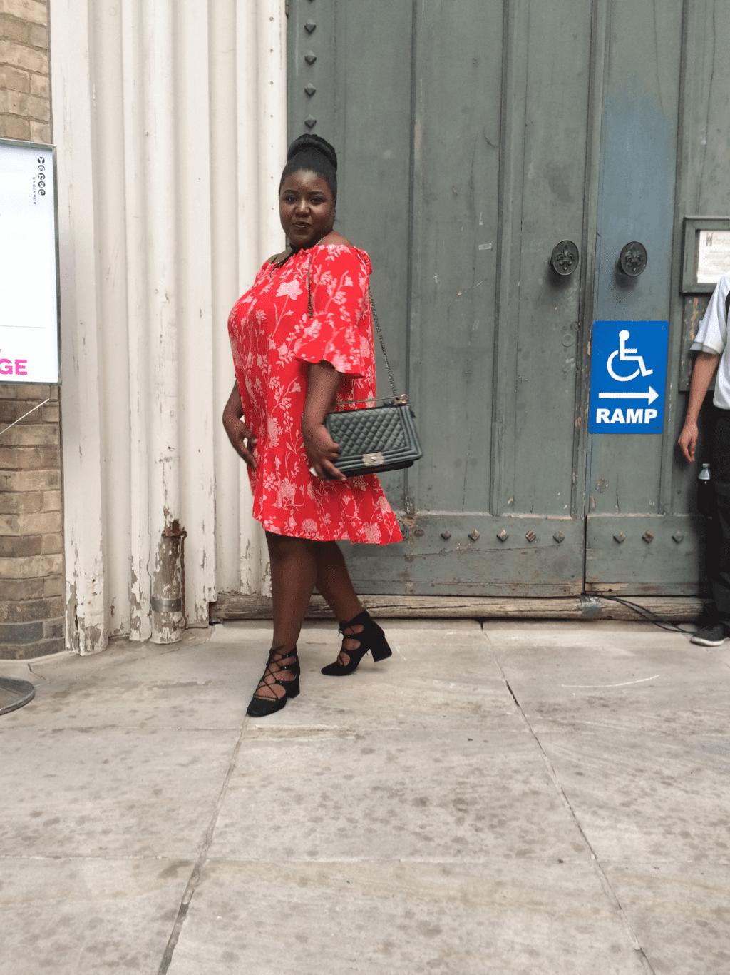 Plus Size Blogger, Antoinette of Antoinette Johnson