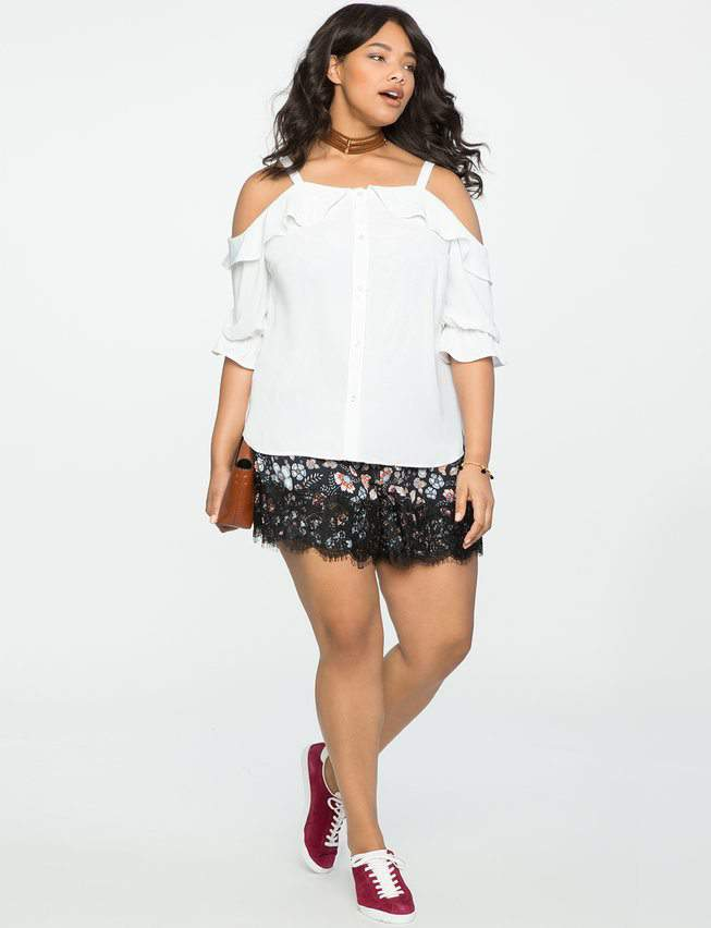 Plus Size Shorts: Would You? Could You?