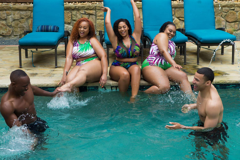 New Plus Size Swim by Curvy Fox