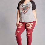 Our Favorite Plus Size Colored Denim Finds