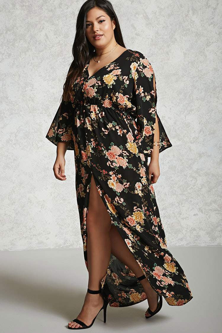 20 of Spring's Most Exciting Plus Size Maxi Dresses!