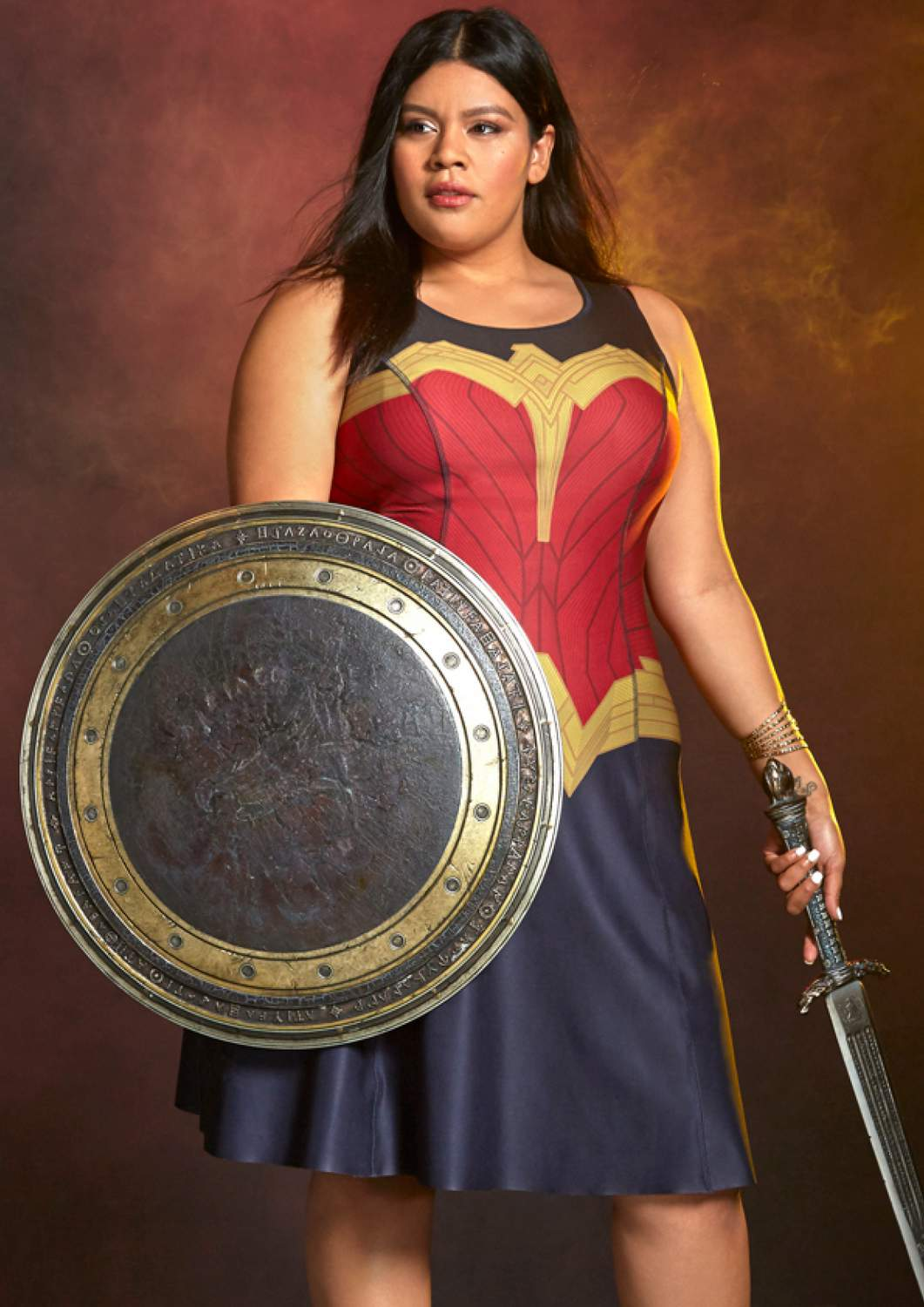 Torrids Plus Size Wonder Woman Collection