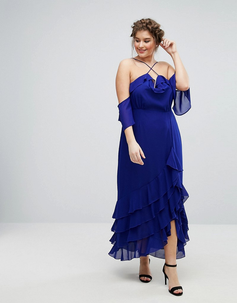 Spring's Most Exciting Plus Size Maxi Dresses