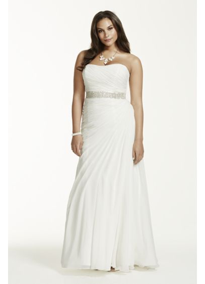Amazing Find! 10 Beautiful Plus Size Wedding Gowns For Under $400