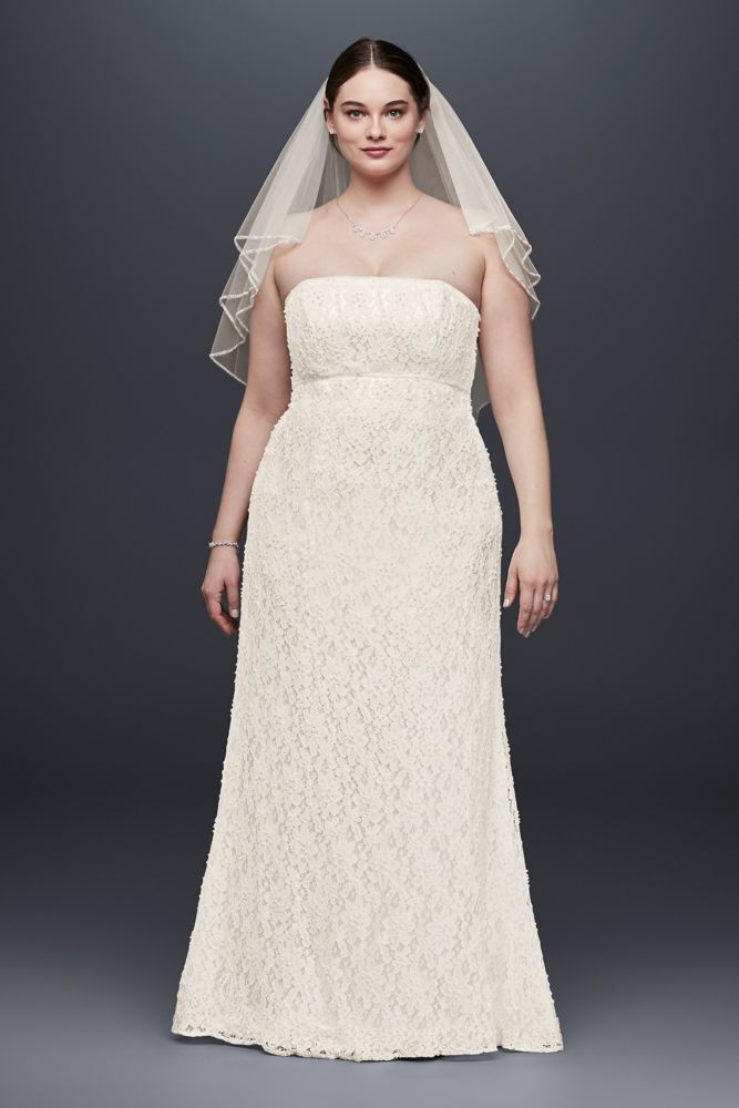 Amazing find 10 beautiful plus size wedding gowns for for Super plus size wedding dresses