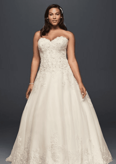 Plus size bridal, plus size bridal boutique, plus size gown, plus size wedding