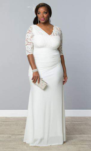 10 Beautiful Plus Size Wedding Gowns For Under $400