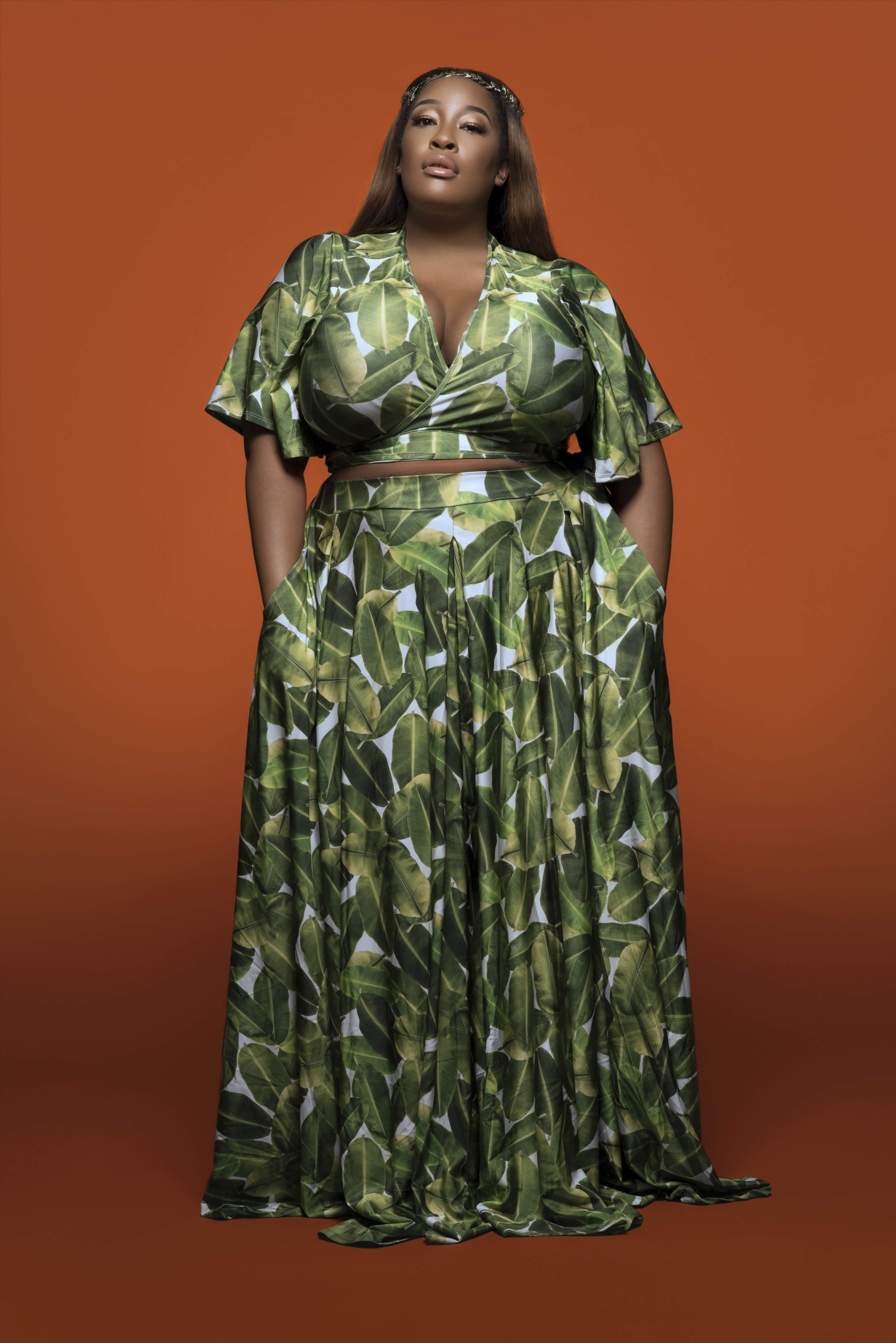 9fdeef2f1f7 Plus size blogger, Essie Golden launches a collaboration with Rebdolls