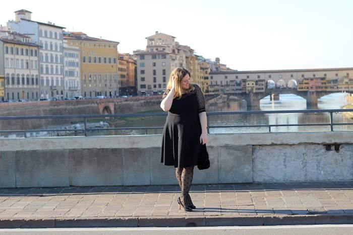Plus Size Blogger- Paillettes & Champagne