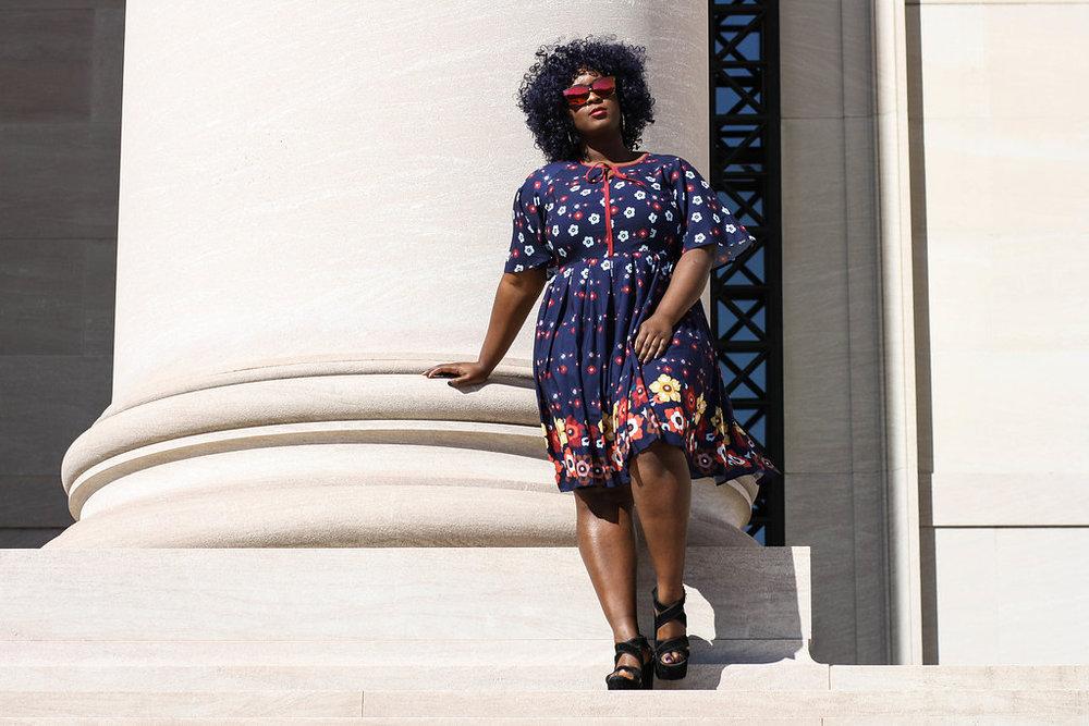 Plus size blogger spotlight- Darker Berrie