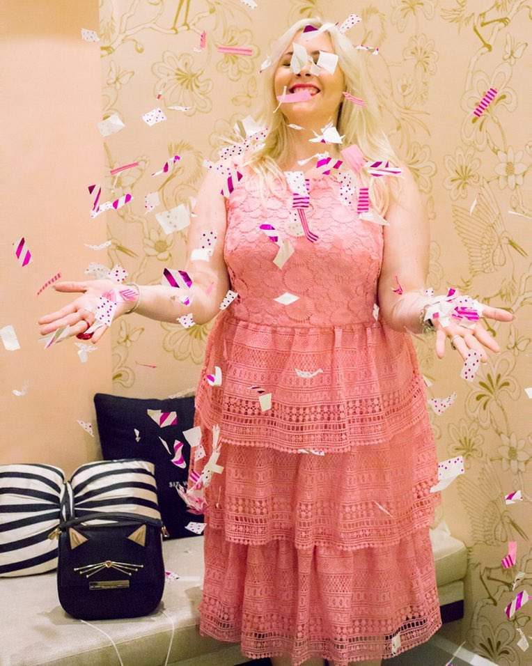 Plus size blogger spotlight- blonde in the district