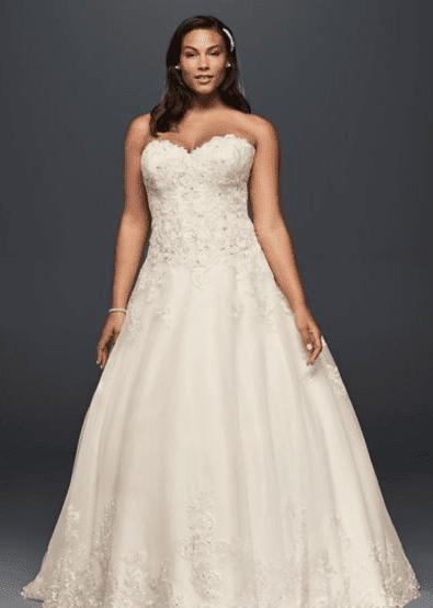Plus size bridal, plus size bridal boutique, plus size gown, plus size wedding