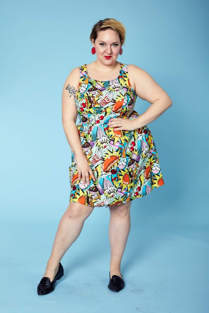 New Boutique to Watch : Plus BKLYN - Snack Attack Dress