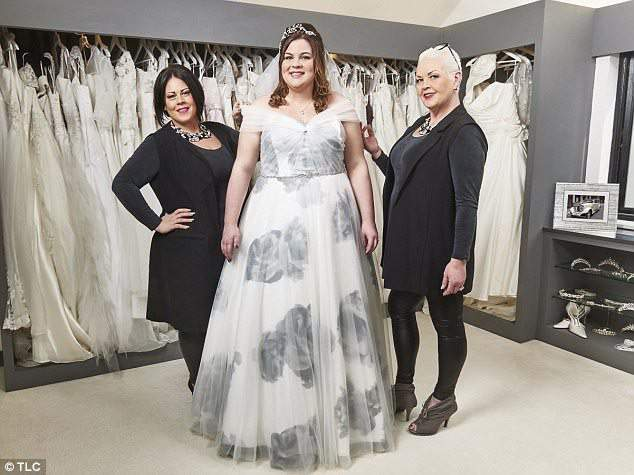 fd988d69c TLC UK Launches Curvy Brides' Boutique with Curves and Couture!