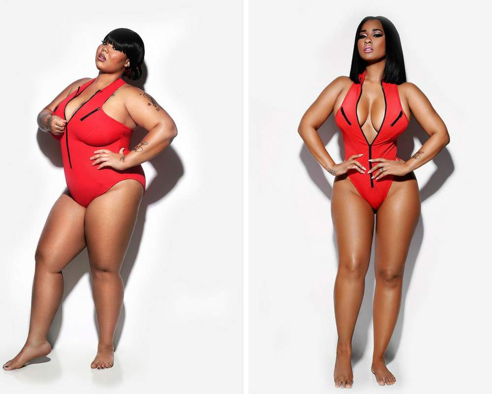 Plus size fashion bathing suits 33