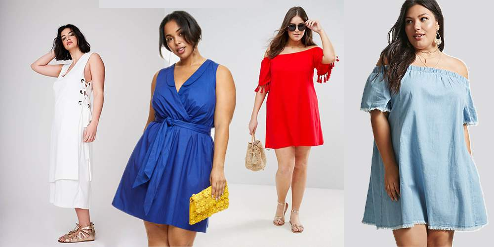 10 totally wearable plus size outfits for the 4th of july | the